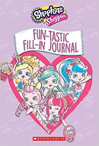 Shopkins Shoppies Funtastic Fill-In Journal $2.14