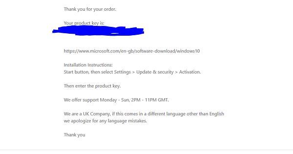 Windows 10 Pro only $11