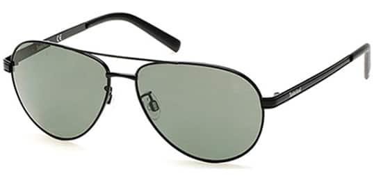 Timberland polarized aviator sunglasses [black/gun metal frames] $24