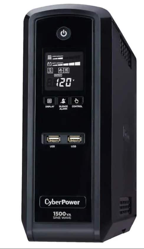 CyberPower 1500VA / 900Watts True Sine Wave Uninterruptible Power Supply (UPS) FS $149.99 Costco Members Online Only