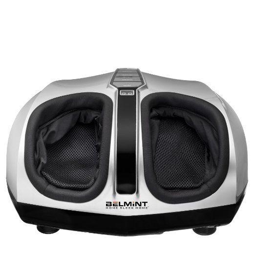 Belmint Shiatsu Foot Massager with Heat Therapy, Deep Kneading & Air Massage-New $119.99