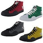 $65 Vision Street Wear Mens Suede Hi Retro Fashion Skate Shoes - $21.99 / pr. or $19.79 for two or more  OLD SCHOOL