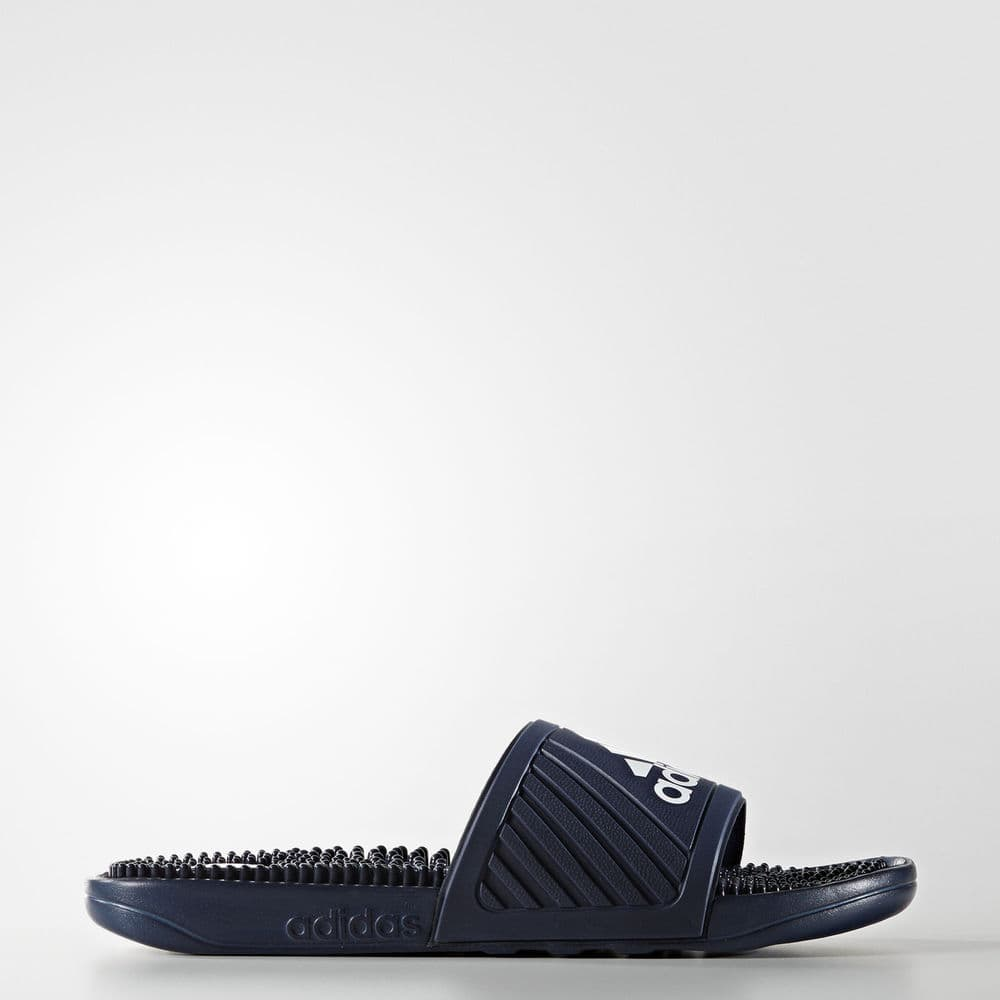 Adidas Voolossage Slides Men's (Navy/White) $12