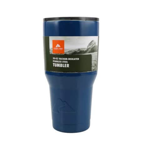 Ozark Trail 30-Ounce Double-Wall, Vacuum-Sealed Tumbler $3.00 @ Walmart