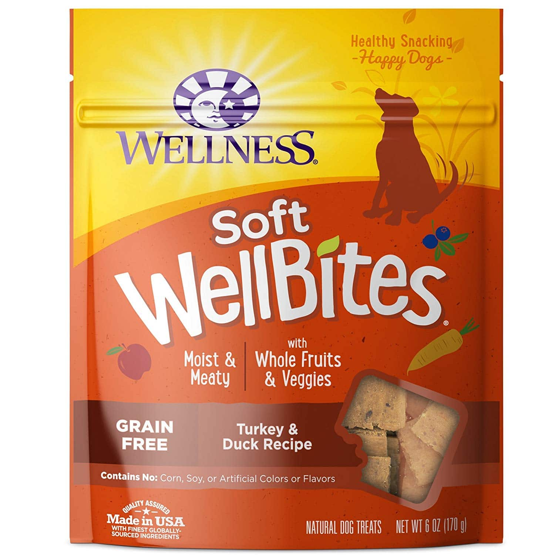 Wellness Natural Wellbites Soft Dog Treats Turkey & Duck 6oz $4.27 with s/s