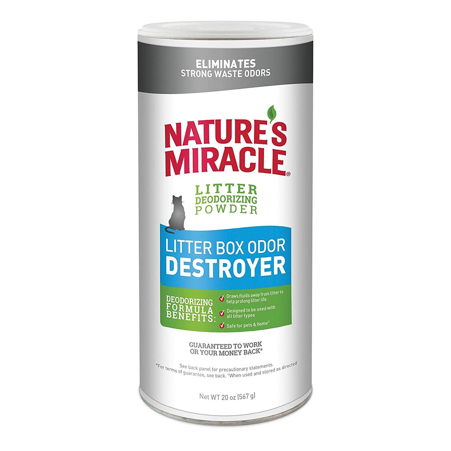 Nature's Miracle Just for Cats Odor Destroyer 20oz $3.37 with s/s