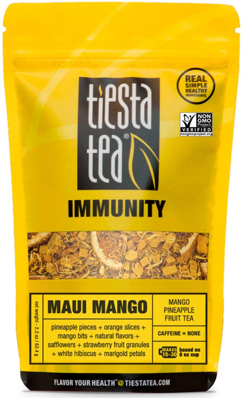 2.2oz Tiesta Tea Maui Mango Loose Leaf Fruit Tea