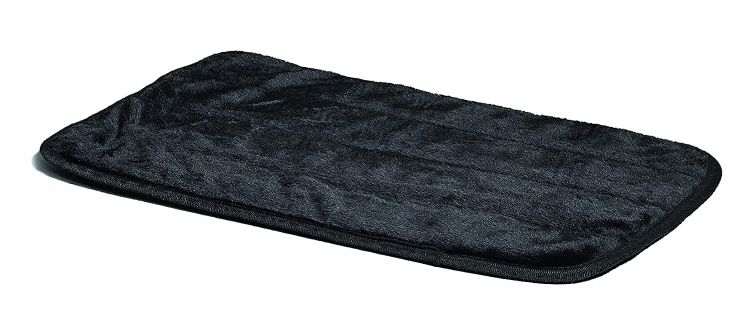 MidWest Quiet Time Pet Bed Deluxe Black Fur Pet Mat 42-inch $6.40, 48-inch $7.77