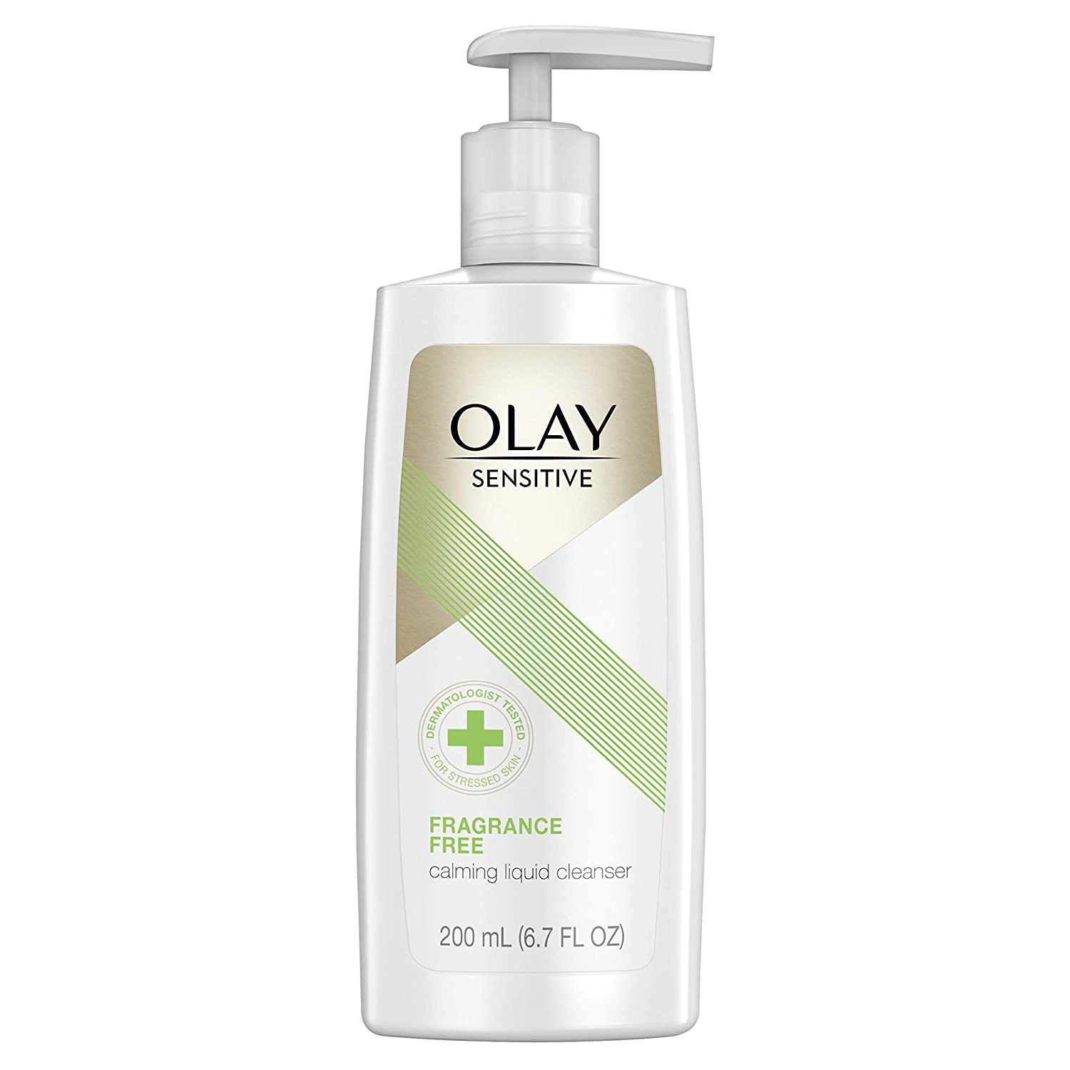 Olay Facial Cleanser for Sensitive Skin, Fragrance-free, 6.7 Fl Oz $2.30 with s/s