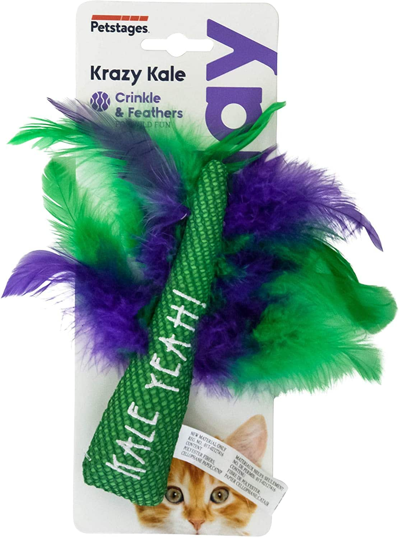 Petstages Dental Catnip Toy (Krazy Kale) $1