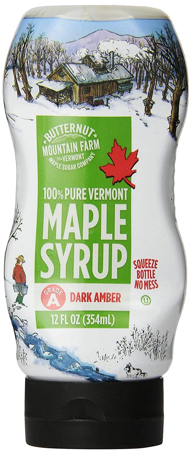 Butternut Mountain Farm 100% Pure Maple Syrup From Vermont, Grade A (Dark Robust) 12oz $4.13