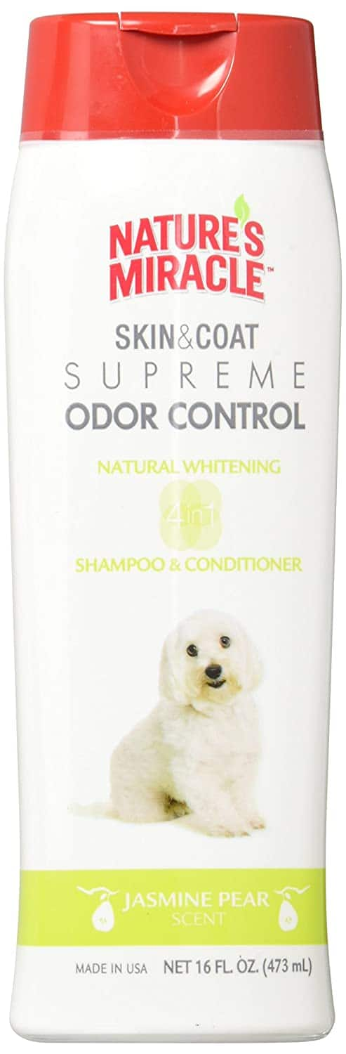 Nature's Miracle Supreme Whitening Odor Control Shampoo 16oz $1.71 with s/s