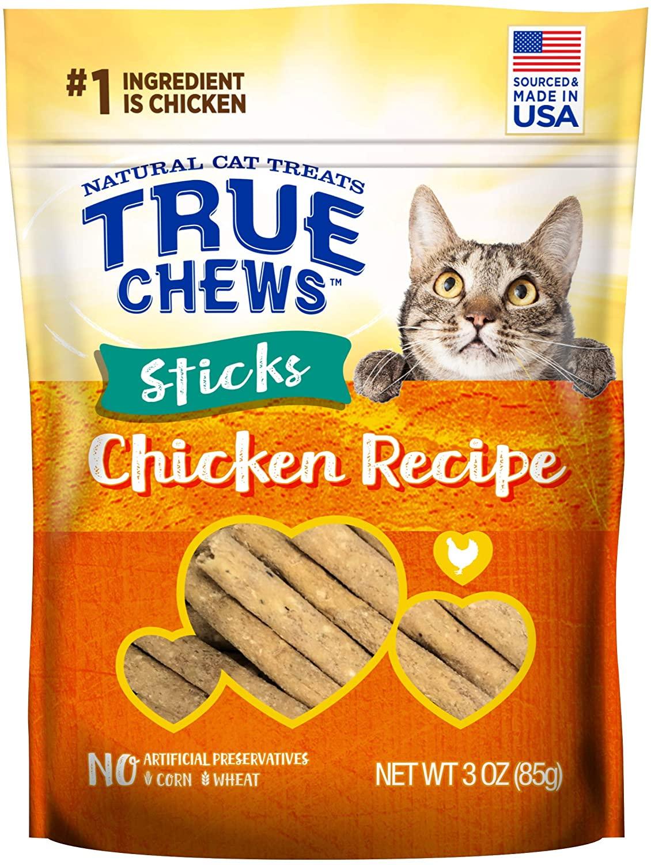 True Chews Cat Sticks Chicken Recipe 3oz $1.17 with s/s