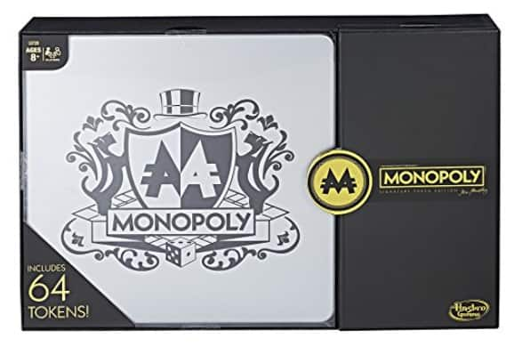 Monopoly Signature Token Collection - $22.39  Amazon