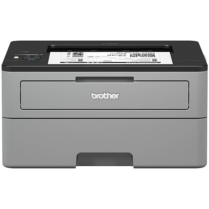 $87.99 Staples - Brother Wireless Monochrome Laser Printer, Refurbished (HL-L2350DW) $80