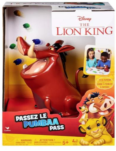 Target Kids Board Games (Disney The Lion King Pumbaa Pass $4.64 50% off) & More