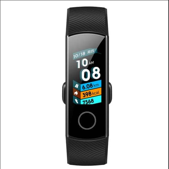 HONOR Band 4 Standard version AMOLED Colorful Touch/Waterproof + Swimming Position Recognition/Heart Rate Detection $26.99