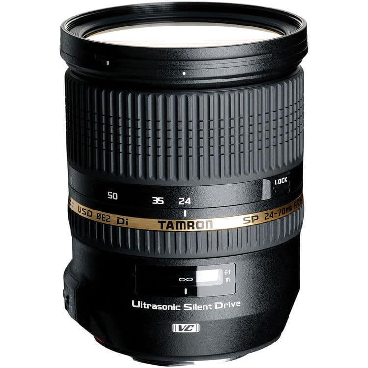 Tamron SP 24-70mm F/2.8 Di VC USD Lens for Canon - $690 on eBay $689.99