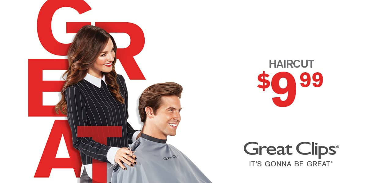 Haircut For 999 Great Clips Greater Western Washington Area