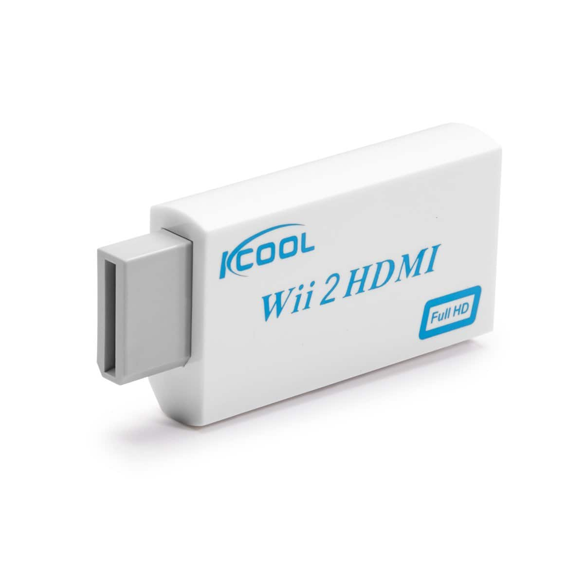 KCOOL Wii to HDMI Converter Output Video Audio Adapter on Amazon for $6.89 w/ coupon $6.98