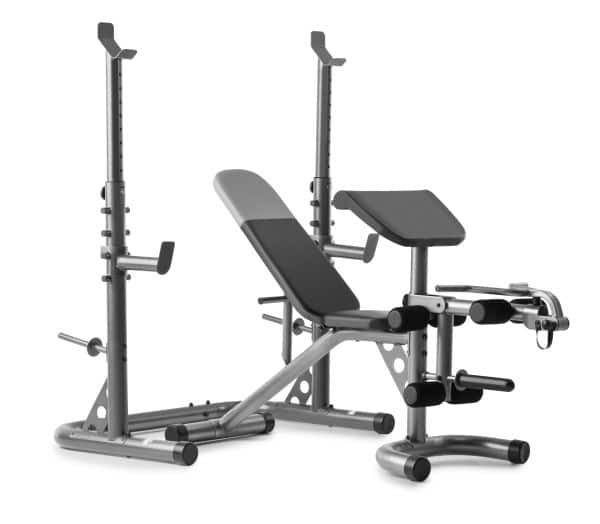 XRS 20 weight bench and squat rack 199.99