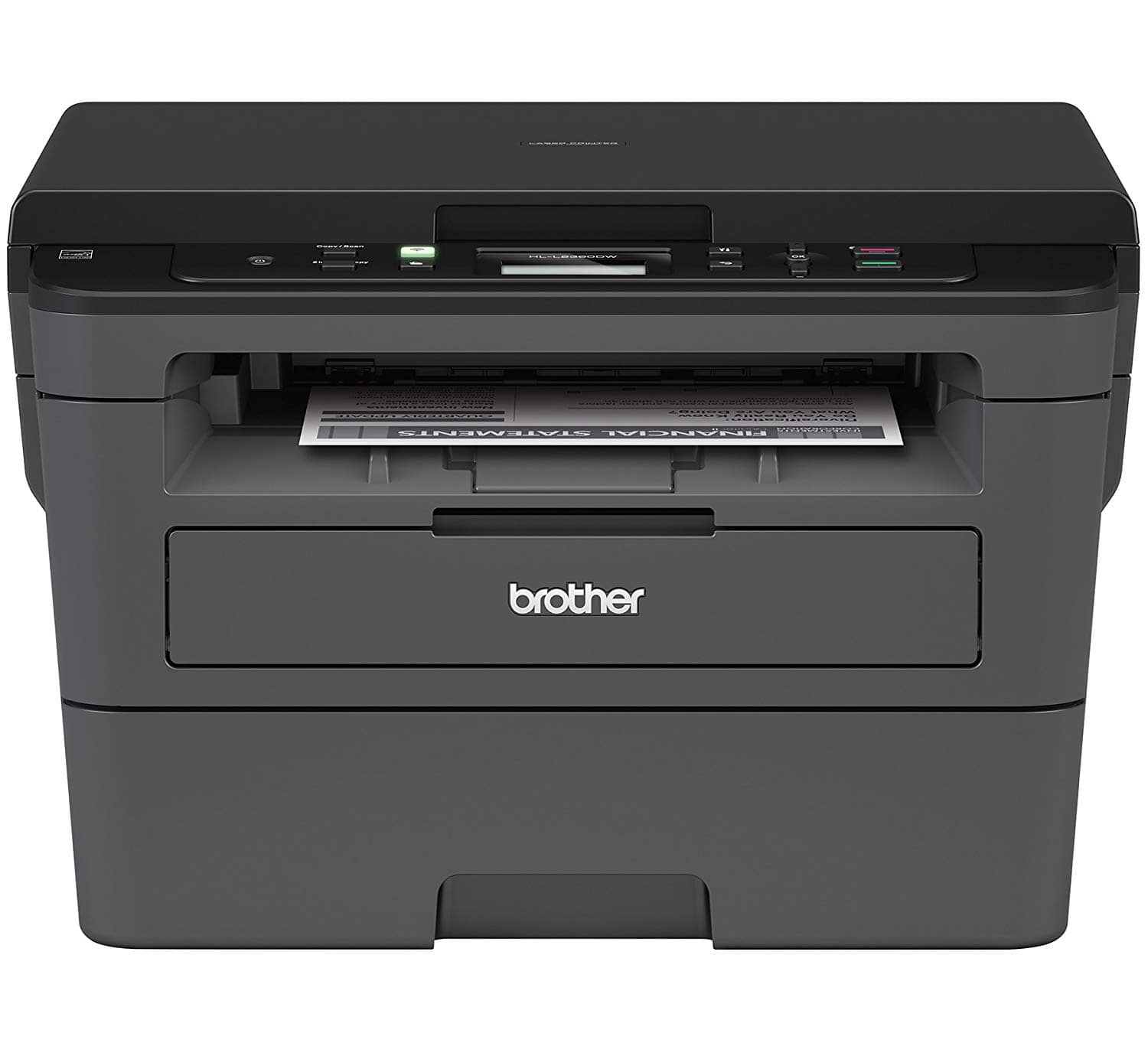 Brother HL-L2390DW Wireless Monochrome All-In-One Laser Printer $79.99 + Free Shipping