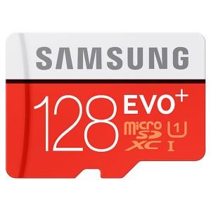 Samsung 128GB MicroSDXC EVO+ U Class 10 for $12.99 w/free shipping @RitzCamera