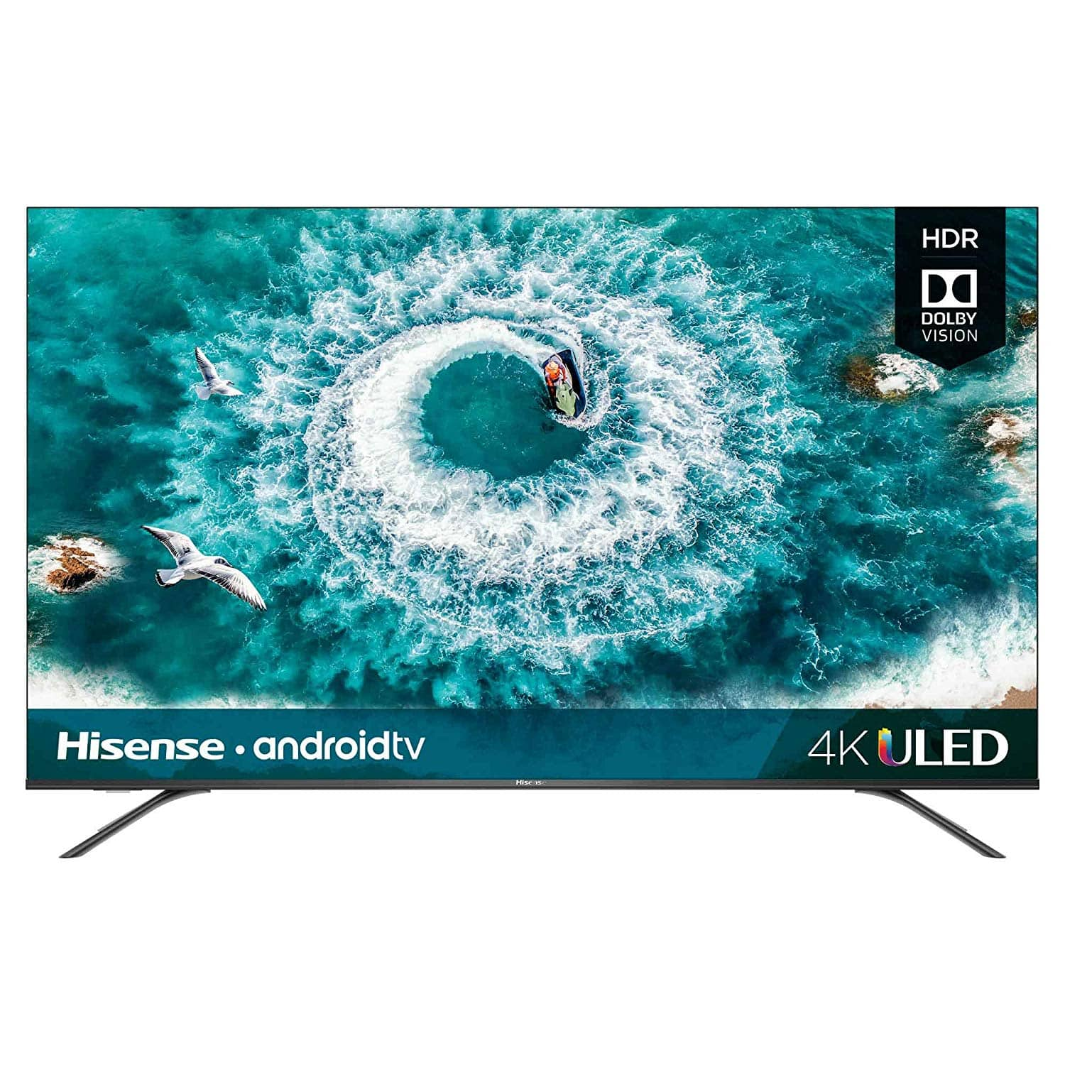 "50"" Hisense 50H8F 4K Ultra HD HDR Android Smart TV $330 + Free Shipping"
