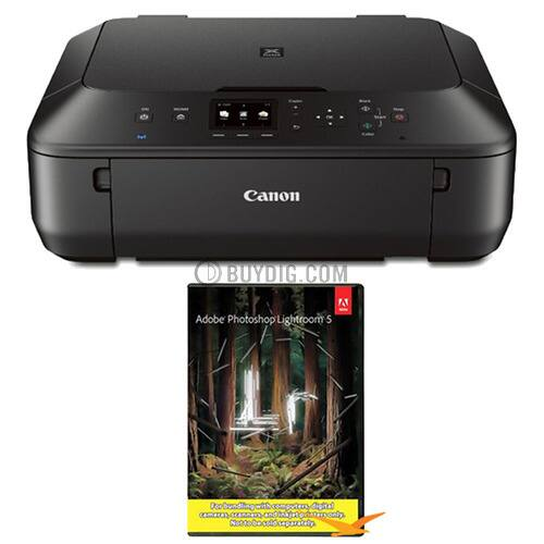 Canon MG5520 Wireless AIO Printer + Adobe Photoshop Lightroom 5  $75 + Free Shipping