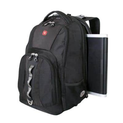 "SwissGear SA1271 ScanSmart 17"" Laptop Backpack, Black $22.49 AC + shipping @ JCPenny"