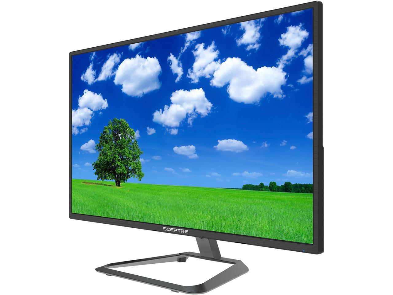 "27"" Sceptre U275W-4000R 4K UHD IPS LED Monitor $200 + Free Shipping"