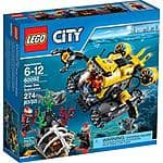 LEGO 60092 City Deep Sea Explorers Deep Sea Submarine - $30 at Walmart. Free store pickup.