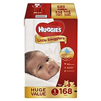 Huggies Snug & Dry Size 1 diapers as low as 11.6 cents each w/ Amazon Family & S&S $32.22