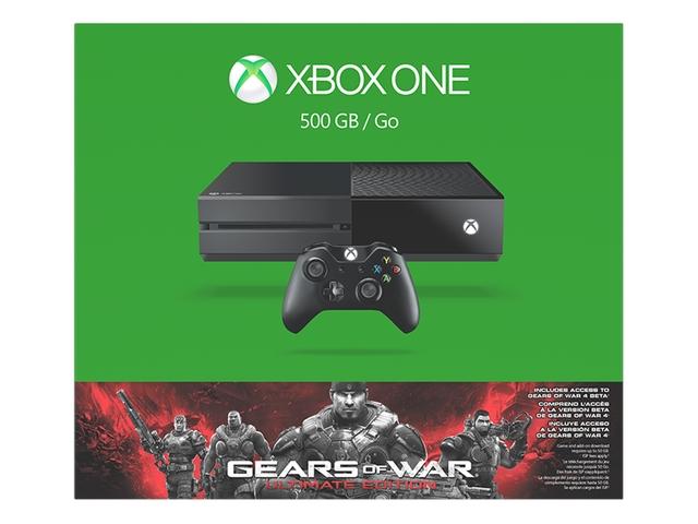 Microsoft Xbox One Gears of War: Ultimate Edition 500GB Bundle $254.99@Newegg