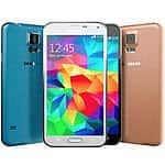 Samsung Galaxy S5 SM-G900V 16GB Verizon + GSM Unlocked Black White Gold Blue-$189.99 (seller refurb)
