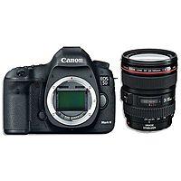 eBay Deal: Canon EOS 5D III Kit: DSLR Camera +EF 24-105mm f/4L IS USM Lens. Mark 3 5260B009 - ebay.com - $2700