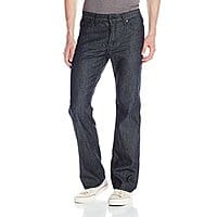 amazon 20% off  jeans & shirts for men- Kenneth Cole Men's Worn Wash Boot Cut Jean - AC - $  17.91