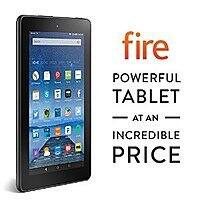"Amazon Deal: Fire, 7"" Display, Wi-Fi, 8 GB - $49.99 Includes Special Offers, Black-Pre order- buy 5 and get 1 free too"