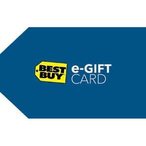 Buy a $150 Best Buy Card & get a bonus $15 Best Buy Code - ($165 Value)