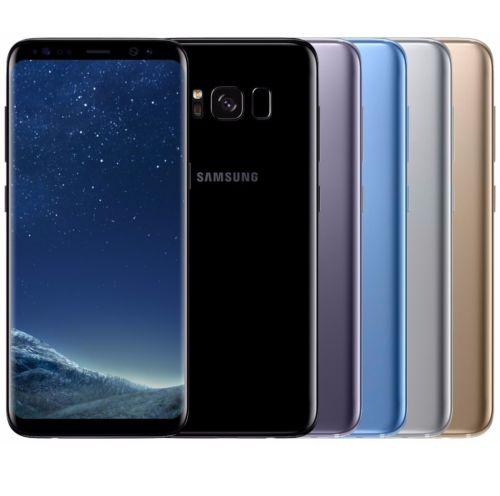 Samsung Galaxy S8 SM-G950FD Dual Sim (FACTORY UNLOCKED) Black Gold Gray   - $590 - Int'l model