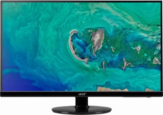 "Acer - S271HL 27"" LED FHD Monitor - Black - bestbuy elite/elite plus only -$119.99"