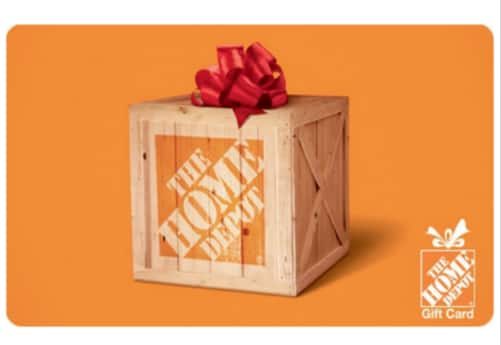 Buy $100 The Home Depot® eGift Card and Get a $10 eBay code -Email