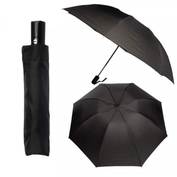 3-Pack Pocket Flip Brella Auto Open/Close Umbrellas (Black ONLY) $16 + Free Shipping