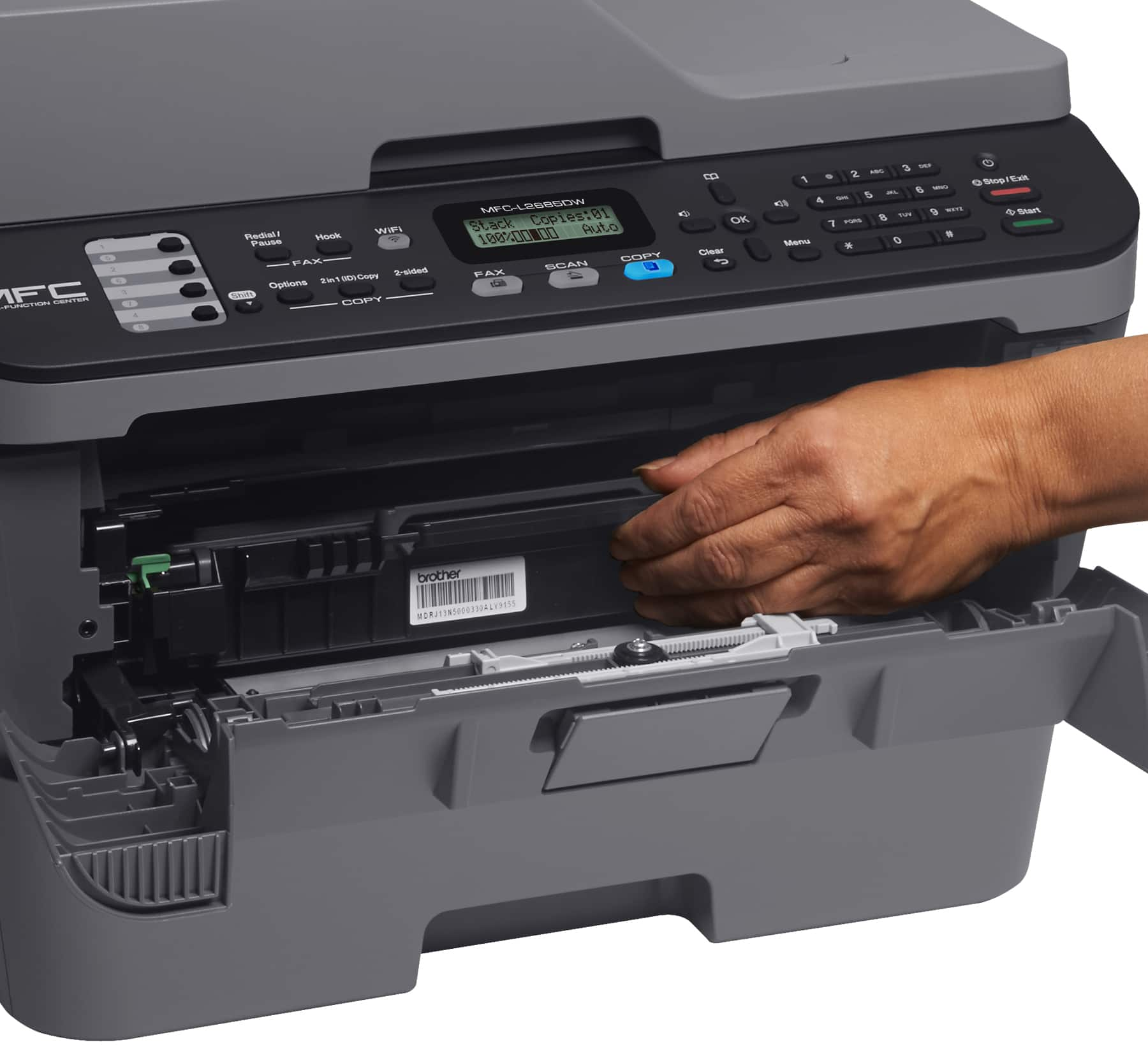 Brother Refurbished MFC L2685DW Monochrome Laser Printer $99.00