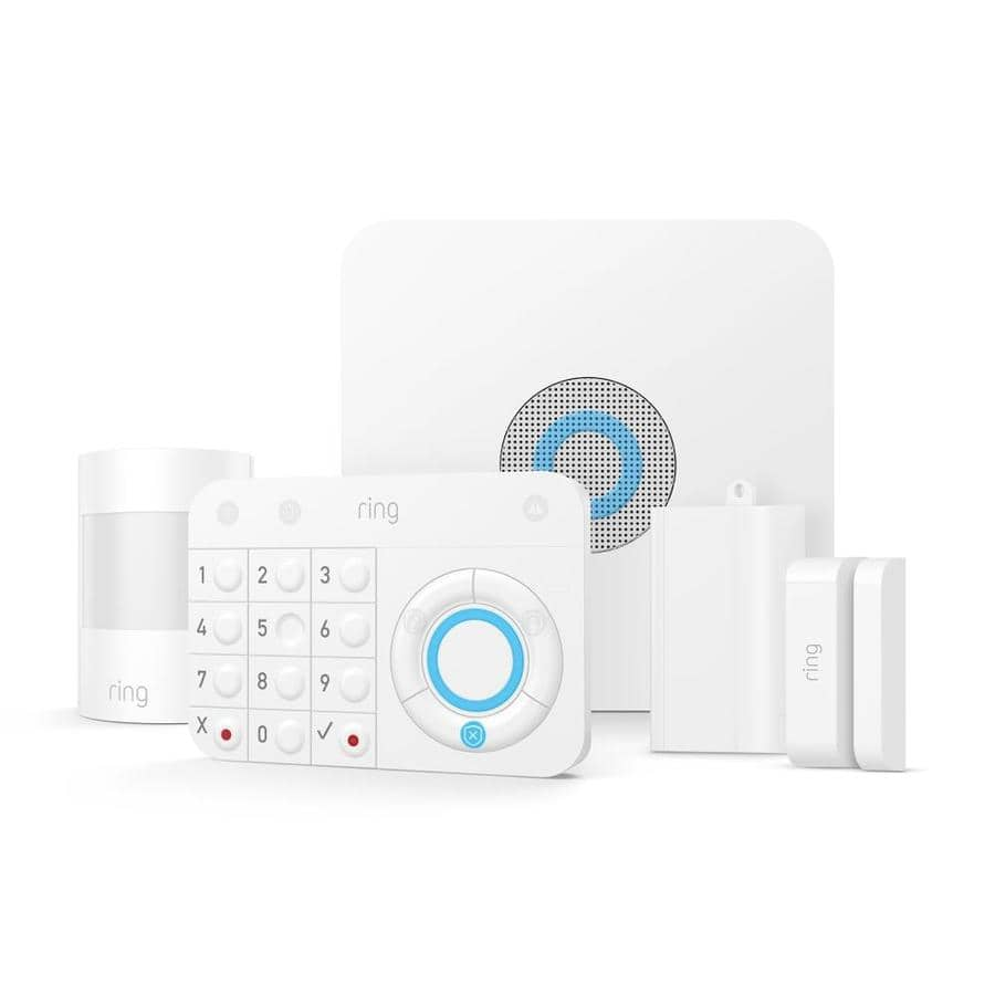 Lowes - Ring Alarm Security Kit Home Automation Security Pack $119 in checkout - Free Shipping