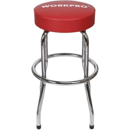 Work Pro Shop Stool, $12