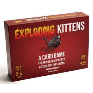 Exploding Kitten Card Game (explicit or standard) for $10