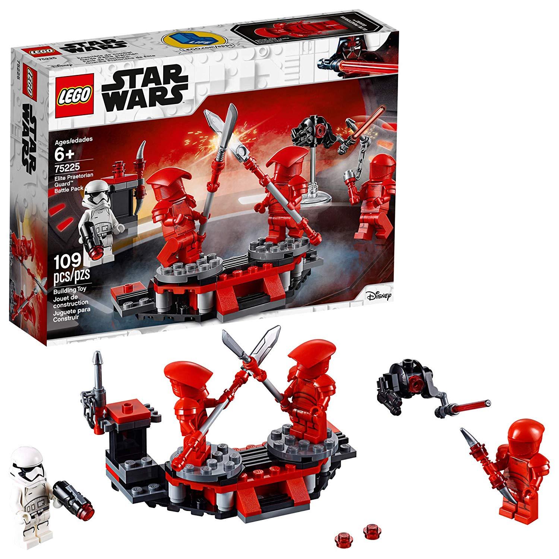 LEGO Star Wars: The Last Jedi Elite Praetorian Guard Battle