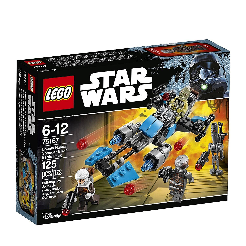 LEGO Star Wars Bounty Hunter Speeder Bike Battle Pack Prime $12