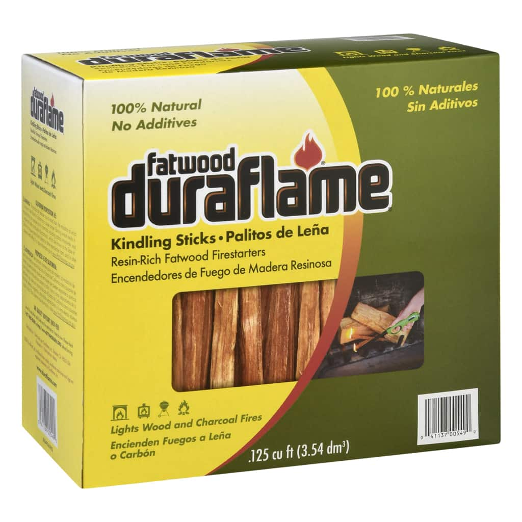 Duraflame Fatwood Kindling Sticks, Resin- Rich Firelighters To Start Wood Or Charcoal Fires - $6.96